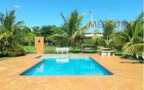 Imagem 1 de 23 de Chácara Com 3 Dormitórios À Venda, 2500 M² Por R$ 720.000,00 - Real Village - Piratininga/sp - Ch0076