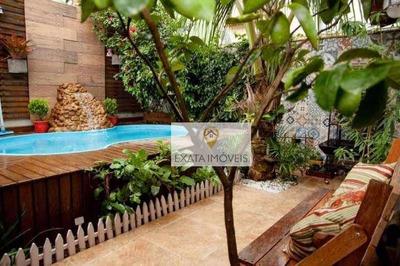 Triplex, Com 03 Quartos E Piscina, Ouro Verde, Rio Das Ostras. - Ca0337
