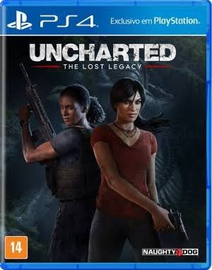 Uncharted The Lost Legacy - Ps4 - Mídia Física - Novo