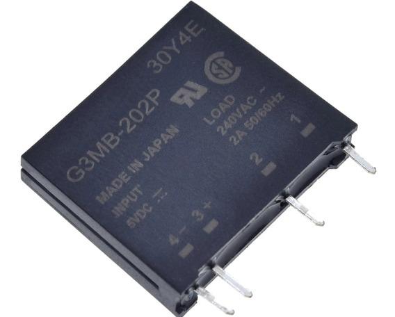 Relé 5v De Estado Sólido Ssr G3mb-202p Arduino Esp8266 Pic
