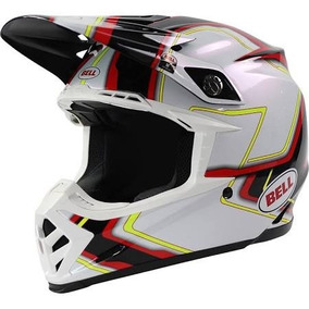 Capacete Bell - Moto 9 Pace Branco - 58