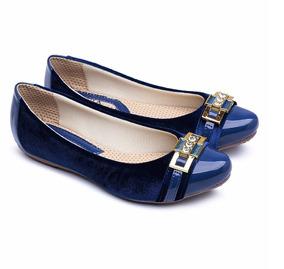 80b9787f24 Sapatos Delicados Femininos - Sapatilhas Azul marinho no Mercado ...