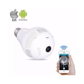 Lampada Camera Ip 360 Hd Panoramica Wifi