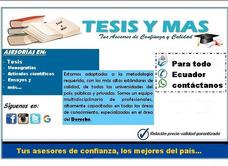 Asesoría De Tesis, Monografías Y Trabajos De Investigación