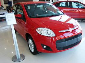 Fiat Nuevo Palio 1.4 Nafta Rojo Okm, Anticipo $40000 Af