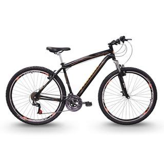 Bicicleta Track & Bikes Black Aro 29 Suspensão Dianteira 21v