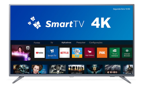 Smart Tv 4k Philips 50