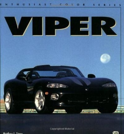 Livro Viper Matt Stone