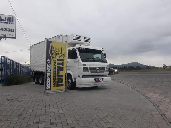 Vw 9.150 - Truck 6x2 - 2008 - Bau Frigorifico