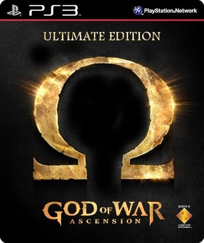 Imagen 1 de 3 de God Of War Ascension Ultimate Juego Ps3 Original + Español