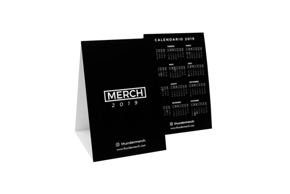 Calendarios Personalizados De Mesa Tend Card.