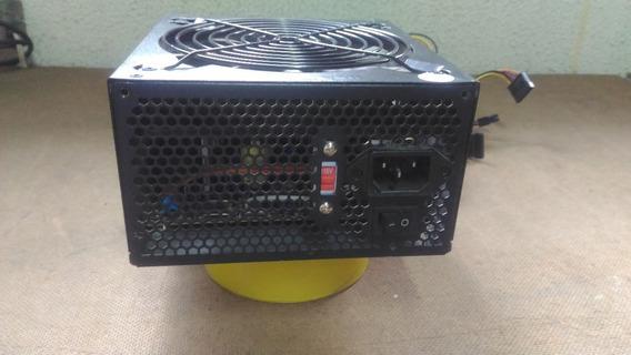 Fonte Real Multilaser 550 Watts Modelo Psu - Ga400 - Usada