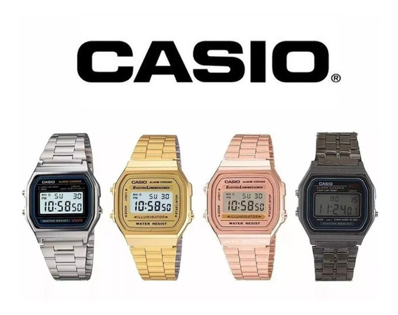 Relógio Retrô Vintage Diversas Cores Digital