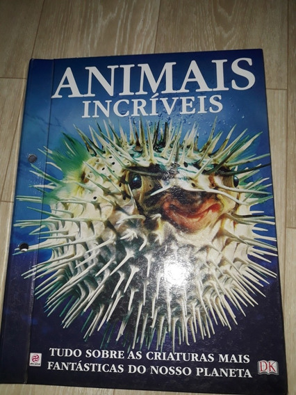Livro Animais Incríveis Em Ótimo Estado