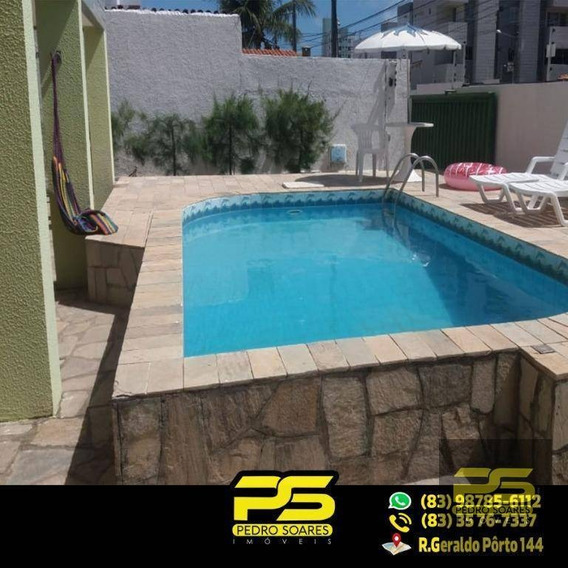 ( Super Oferta ) Apartamento Com 3 Dormitórios Para Alugar Em Cabedelo/pb - Ap1233