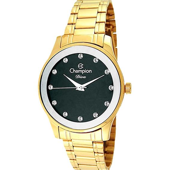 Relógio Champion Feminino Diva Cn27410p.