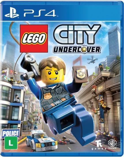 Lego City Undercover Ps4 Lacrado Novo Mídia Física Ps4