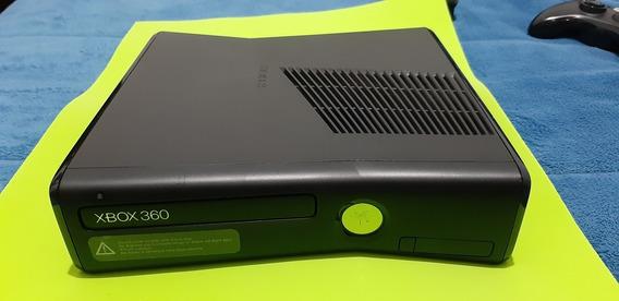 Xbox 360 Slim Desbloqueado +2 Controles Originais +25 Jogos