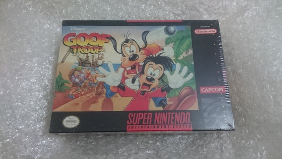 Goof Troop Lacrado Snes