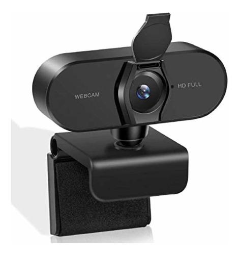 Imagen 1 de 7 de Cámara Web Hd 1080p Con Micrófono