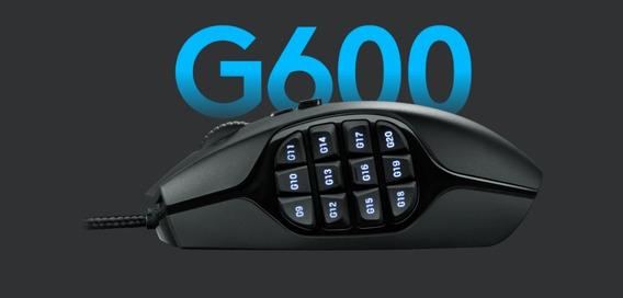 Logitech G600 Mmo Mouse Gamer 20 Botões Programáveis 8200dpi