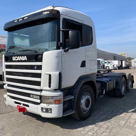 Scania R-360,ano:99,branco,completo,trucado 6x2,ótimo Estado