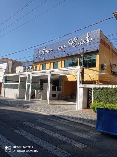 Imagem 1 de 30 de Loja Para Alugar, 900 M² Por - Vila Matias - Santos/sp - Lo0030