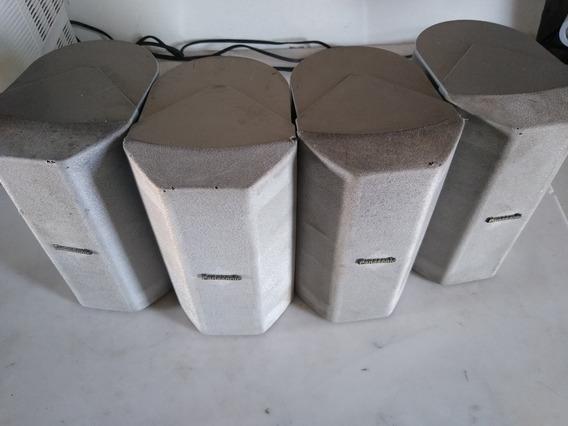 04 Caixa Panasonic Sb-afc280 Surround Sound Estante