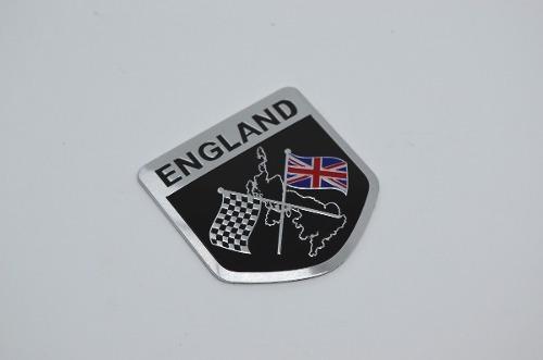 Emblema Bandeira Inglaterra Mini Cooper Land Range Rover