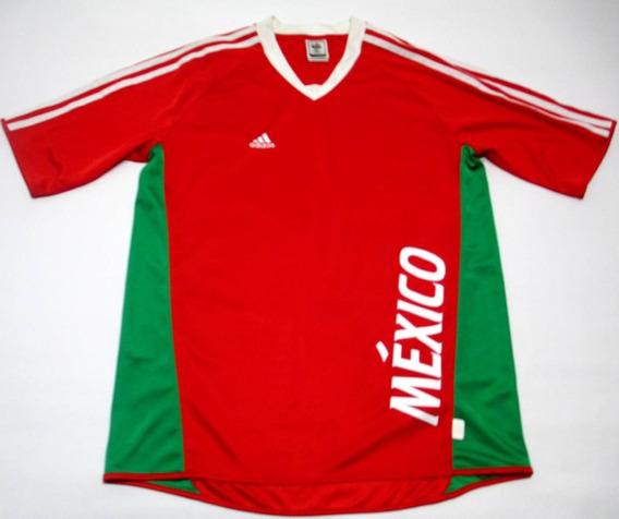 Remera Camiseta adidas Mexico Mundial Alemania 2006 Talle S