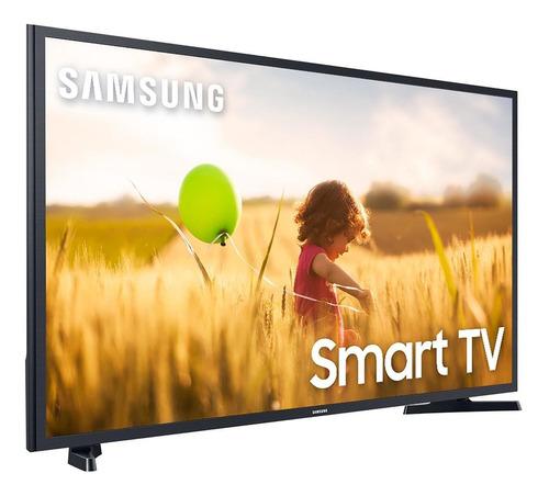 Imagem 1 de 5 de Smart Tv Led Full Hd 43 Samsung 43t5300 Preta Bivolt