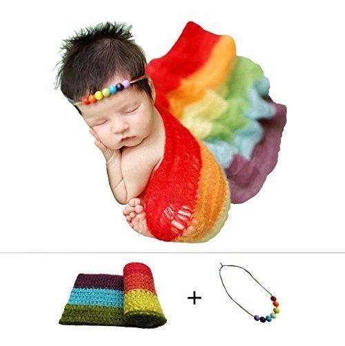 Recien Nacido Bebe Stretch Abrigo De Puntofotografia Foto Pr