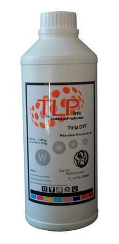 Imagen 1 de 1 de Tinta Dtf Blanca Marca Tlp 1 Kg Impresoras C/ Re Circulación
