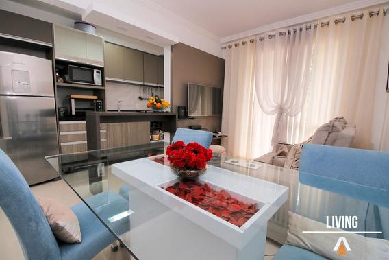 Acrc Imóveis - Apartamento Semi Mobiliado Para Venda No Bairro Passo Manso - Ap02712 - 34213848