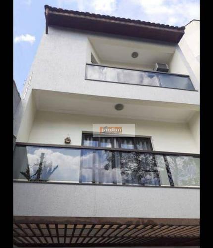 Imagem 1 de 20 de Sobrado Com 3 Dormitórios À Venda, 290 M² Por R$ 667.000,00 - Vila Mazzei - Santo André/sp - So2890