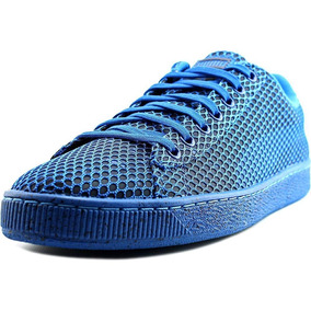 Usado Original Puma Basket Azul Tela 45 46br 13us