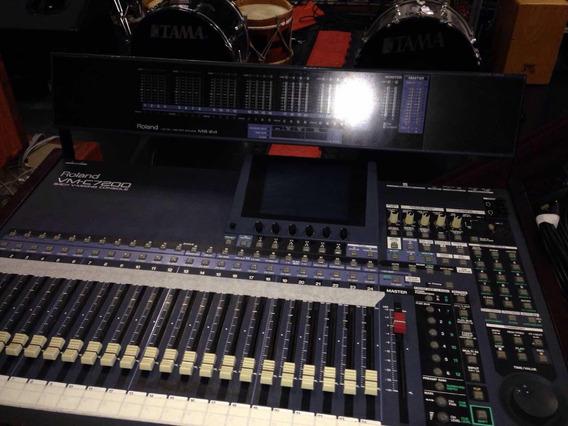 Mesa Digital Roland Vm-c 7200 Com Case