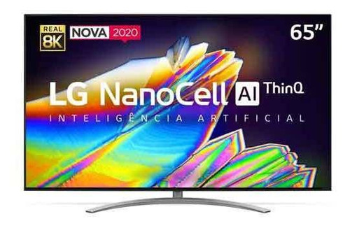 "Tv 65"" Nanocell LG 8k Smart - 65nano96"