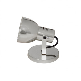 Spot Flex Alumínio Articulável Isadora Design Prata Fh