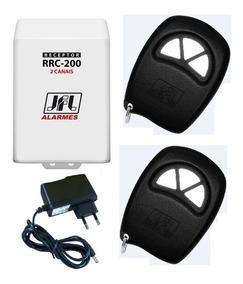 Receptor Com 2 Controles Remoto P/ Acionar 2 Lâmpadas/motor