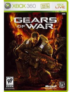 Jogo Xbox 360 Gears Of War Midia Fisica Original