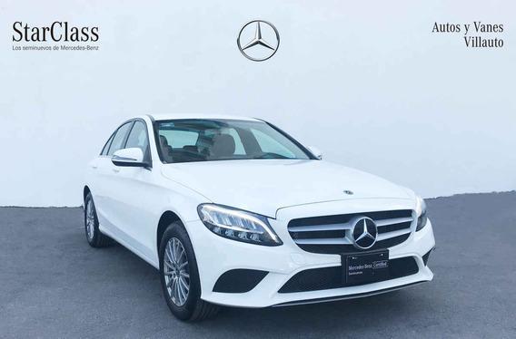 Mercedes-benz Clase C 2019 4p C 200 L4/1.5/t Aut