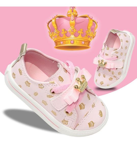 Tenis Princesas Infantil Feminino Meninas Barato