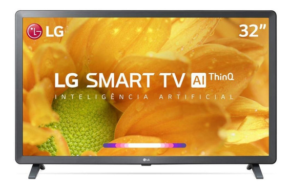 Smart Tv Lcd 32 LG Thinq Ai Hd Hdr Bluetooth Lm625bpsb
