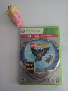 Lego Batman The Videogame + Dvd Batman Xbox 360 Garantizado
