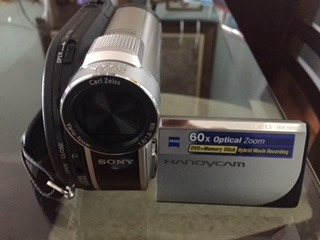 Filmadora Digital Handycam Sony Dcr-dvd 650
