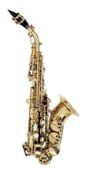 Sax Soprano Soprano Curvo Shelter Sft64331l Laqueado C/ Case