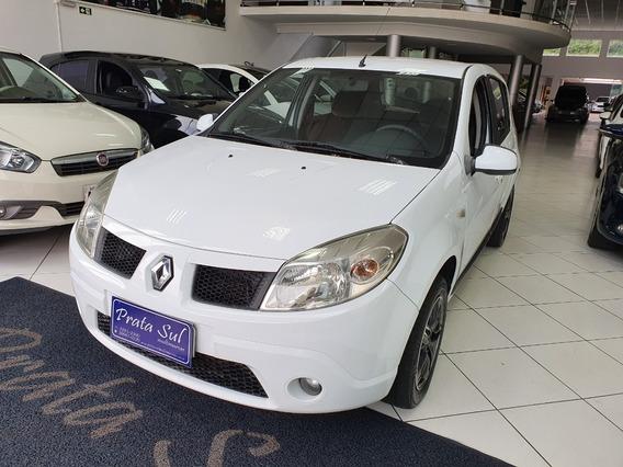 Renault Sandero 1.6 Flex 2010 Completo, Periciado, Financia