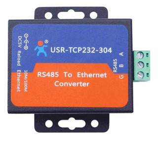Usr-tcp232-304 Convertidor Serial Rs485 A Ethernet