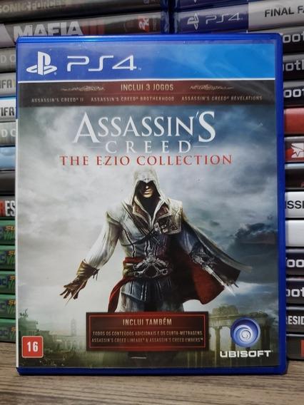Assassins Creed Ezio Collection Ps4 Midia Fisica - Seminovo